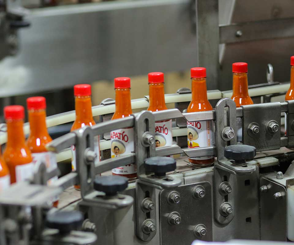 Tapatio Hot Sauce on Production