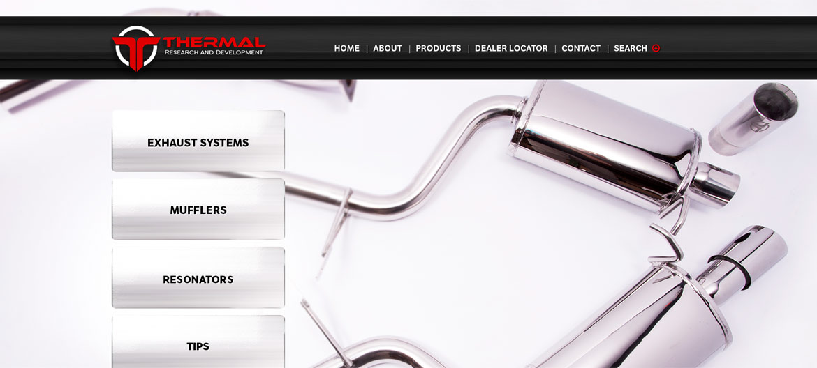 Thermal R&D New Website After Devise Interactive