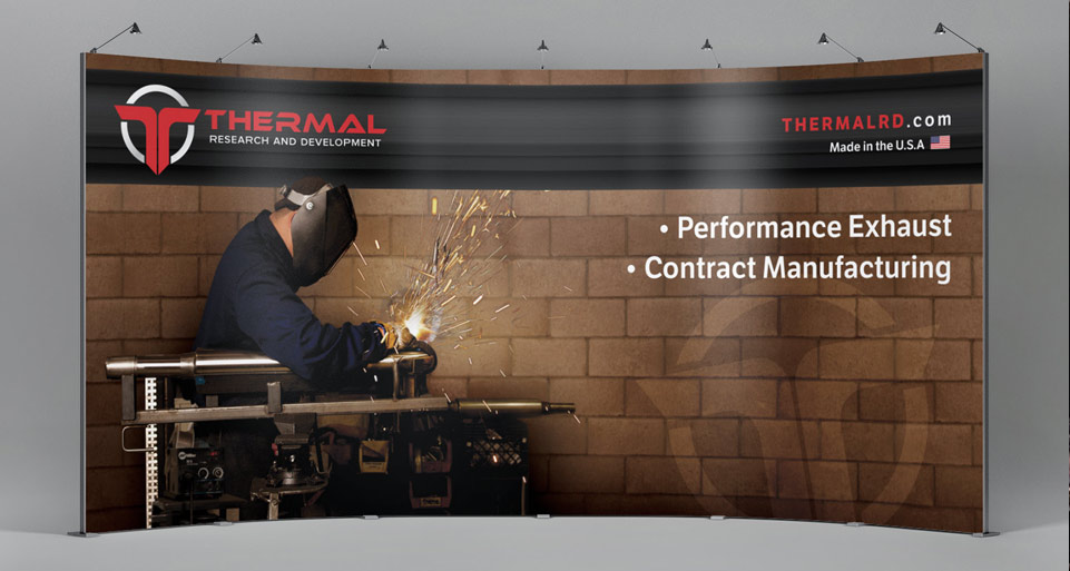 Thermal R&D Tradeshow Booth