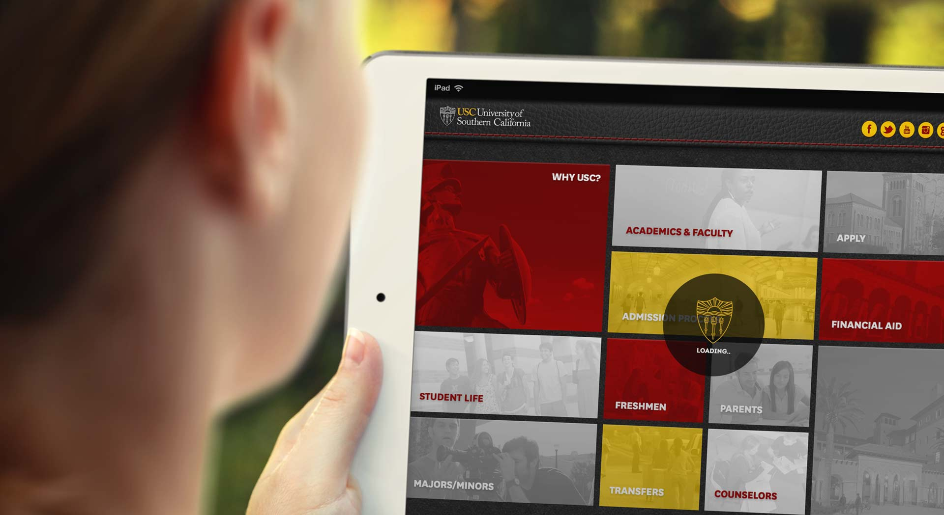 USC Mobile Application